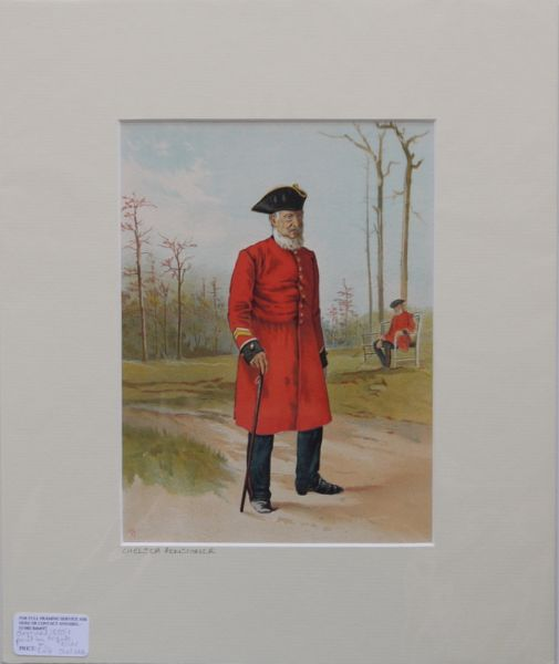 The Chelsea Pensioner. 1880's